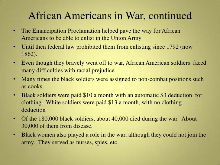 an analysis of the minoritiess involvement in the american civil war African american soldiers during the civil war history essay  it is pity but the prejudice against african americans did not let black people to serve in combat as .