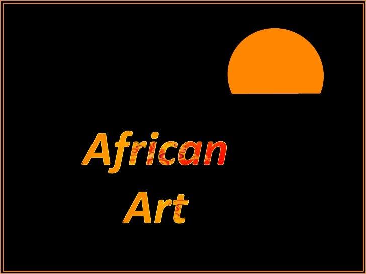 African<br />Art <br />