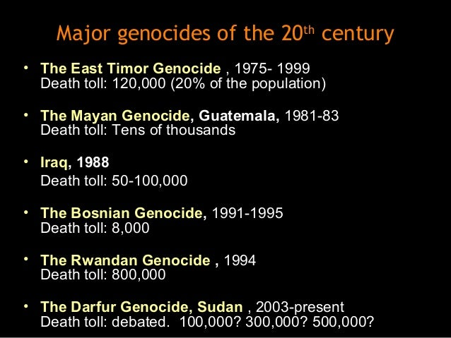 8 stages of genocide in darfur Uganda: the eight stages of gay genocide (the janjaweed in darfur) sometimes organization is informal (hindu mobs led by local rss militants.
