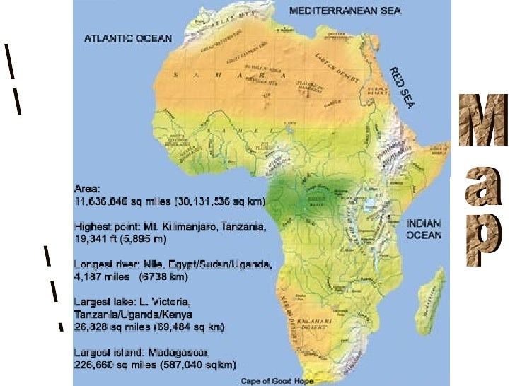 African geography african map 3 gumiabroncs Choice Image
