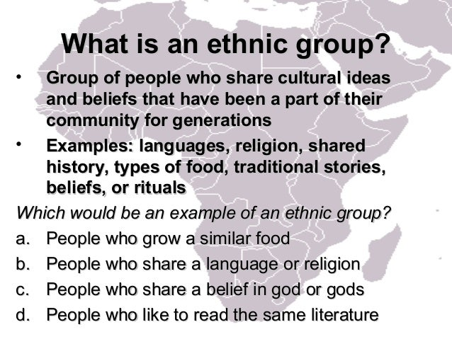 African Groups
