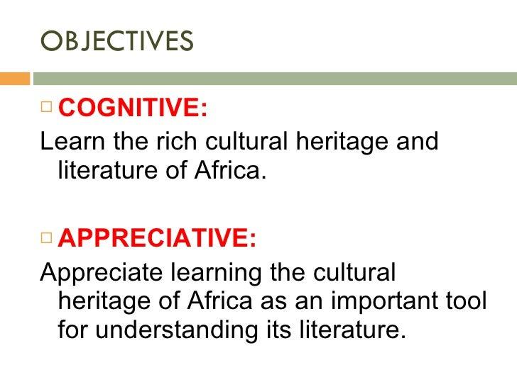 African Literature Slide 2