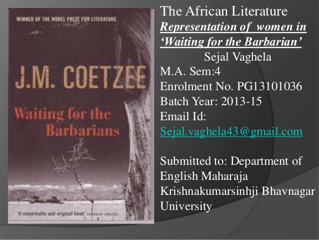 Women in African Literature: Writing and Representation