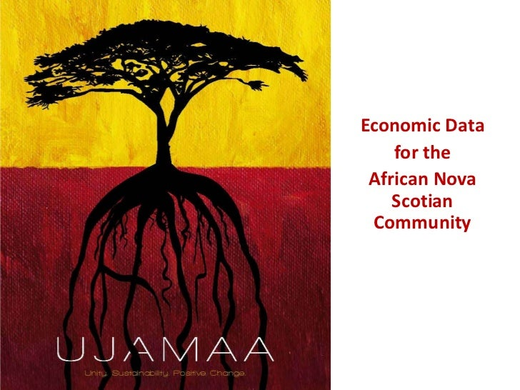 Economic Data <br />for the<br />African Nova Scotian Community<br />