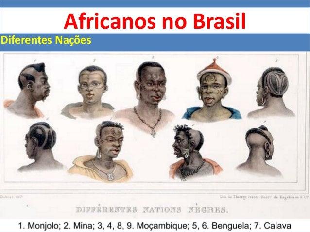 Africanos no Brasil - dominação e resistência Slide 2