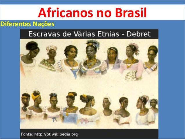 Africanos no Brasil - dominação e resistência Slide 3