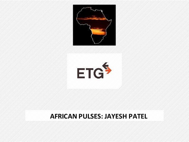 AFRICAN PULSES: JAYESH PATEL