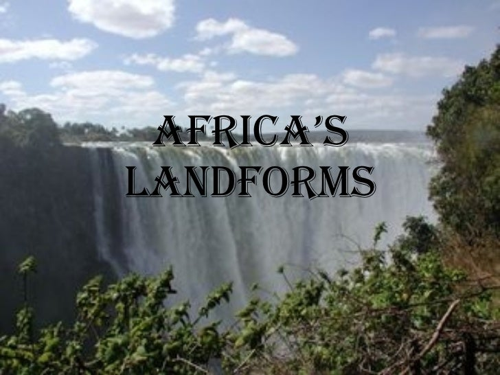 Africa's Landforms