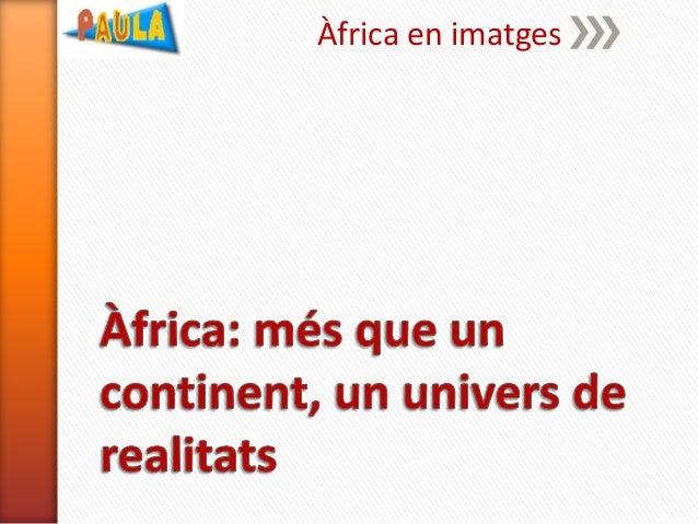 Àfrica en imatges