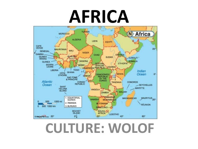 A brief history of the Wolof
