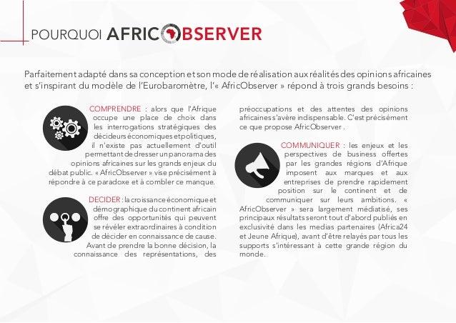COMPRENDRE : alors que l'Afrique occupe une place de choix dans les interrogations stratégiques des décideurséconomiqueset...