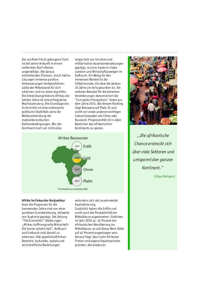 Chancen für den Mittelstand in Afrika Slide 2