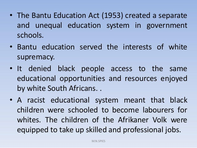 BANTU EDUCATION ACT SUMMARY EPUB DOWNLOAD