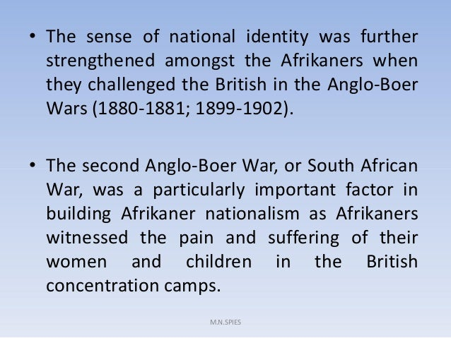 essay about the rise of afrikaner nationalism from 1930 to 1948