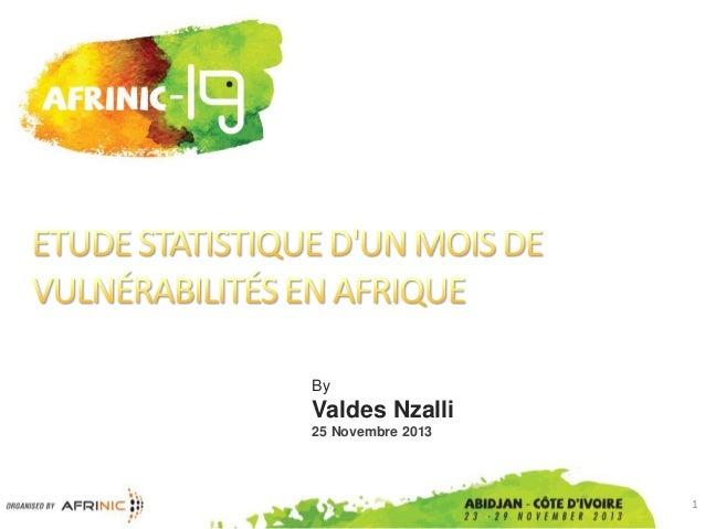 By  Valdes Nzalli 25 Novembre 2013  1