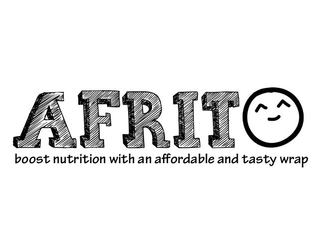 AFRITboost nutrition with an affordable and tasty wrap