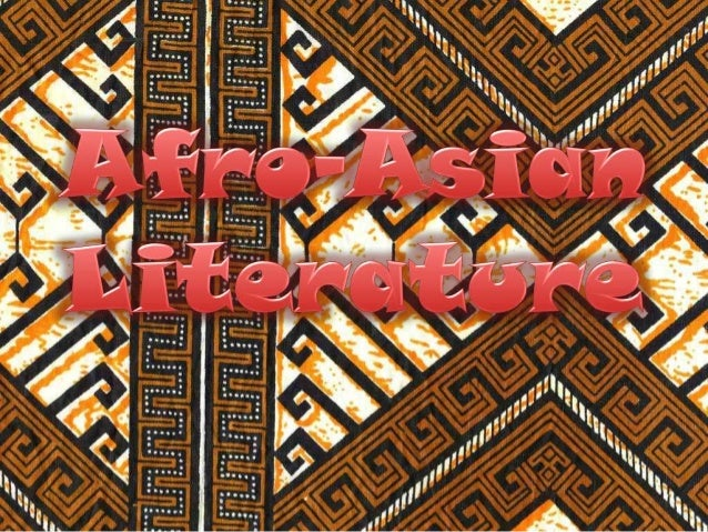 AFRO ASIAN LITERATURE EPUB DOWNLOAD