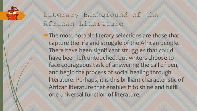 African Lit Slide 2
