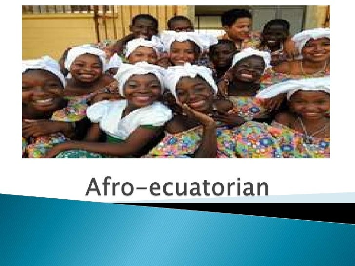 Afro-ecuatorian<br />