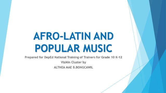 afro cuban music essay Essays & papers music appreciation unit one lab music appreciation unit one lab questions a new type of music, afro-cuban jazz 2what was the.