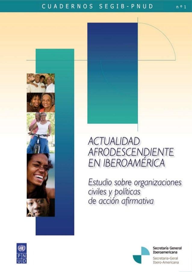 Este documento fue preparado por Pablo Pascale, consultor contratado por el Bureau Regional para América Latina del Progra...