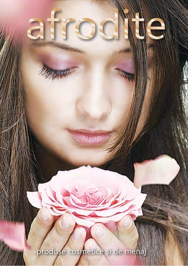 produse cosmetice și de menaj