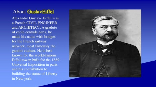 • The Eiffel Tower cost to build in 1889, an amount equal to at that time. Today it's cost would equal . • It is , but thi...