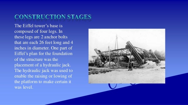 15 may 1888: start of construction of second stage 21 August 1888: Completion to 2nd level
