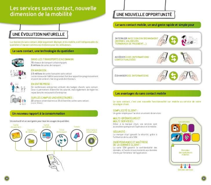 Les services sans contact, nouvelle    dimension de la mobilité                                                           ...