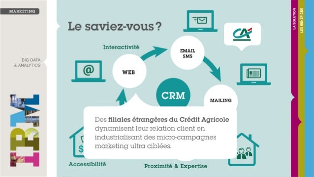 Crédit Agricole, banque de proximité à l'International, dynamise la relation client avec #IBM #Campaign et #IBM #Marketing...