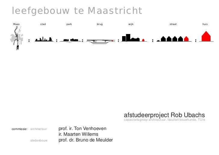 leefgebouw te Maastricht                            Maas             stad           park               brug              w...