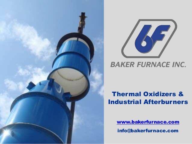 Industrial Afterburner Thermal Oxidizer