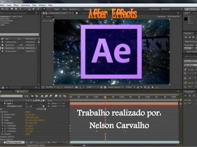 Trabalho realizado por: Nelson Carvalho