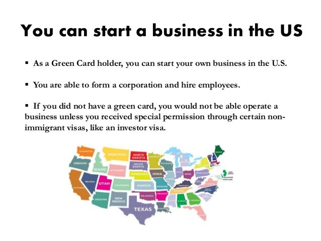 After getting green card what next 6 you can start a business in the us as a green card reheart Image collections