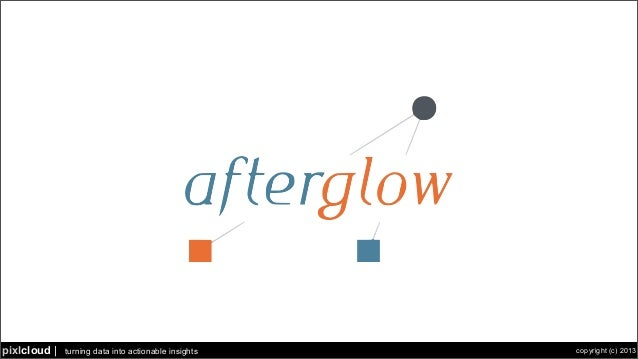 turning data into actionable insights copyright (c) 2013pixlcloud | afterglow.sf.net