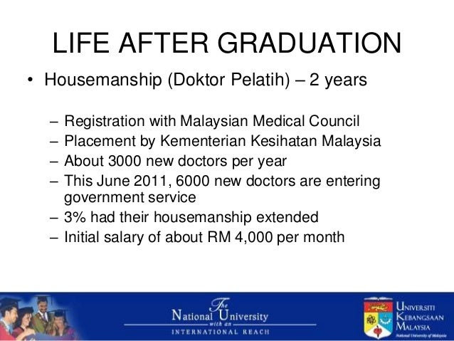 Career in the Medical Profession in Malaysia