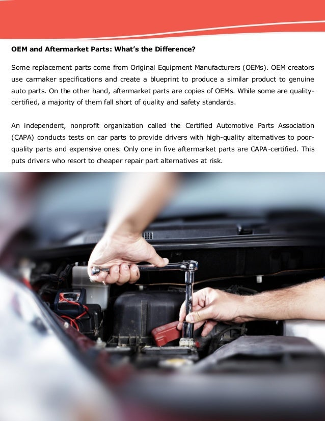 Aftermarket car replacement parts do they compromise driver safety 3 malvernweather Gallery