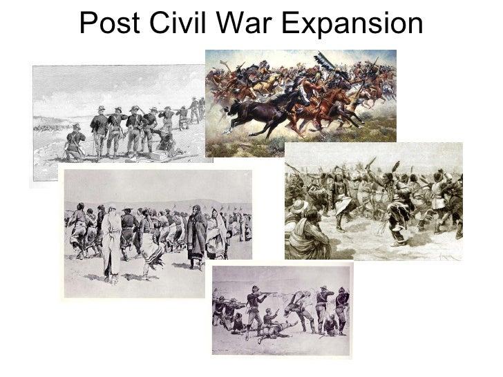 Post Civil War Expansion