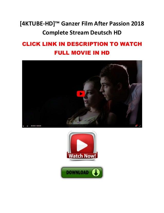 After Passion Ganzer Film Stream