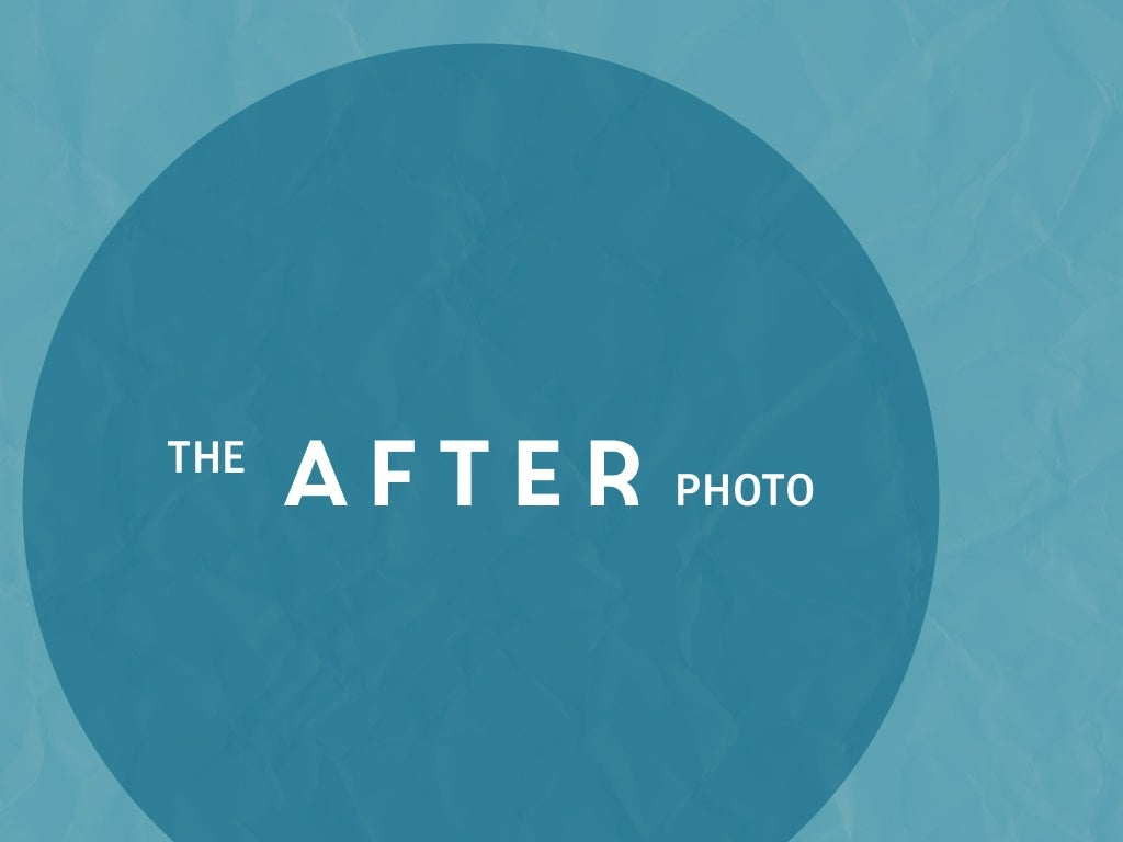 Show Students an After Photo: A Glimpse into their Future (if they work hard)