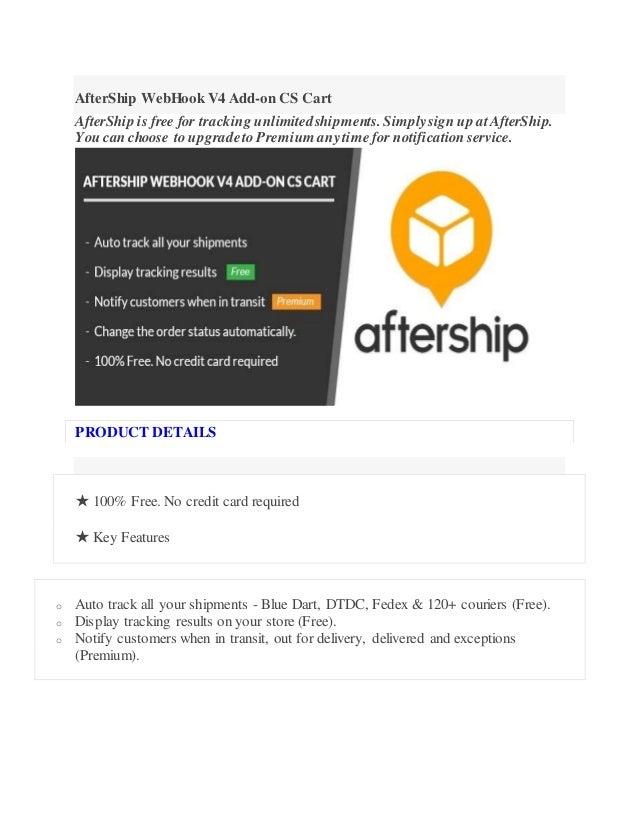 After ship webhook v4 add Cs Cart