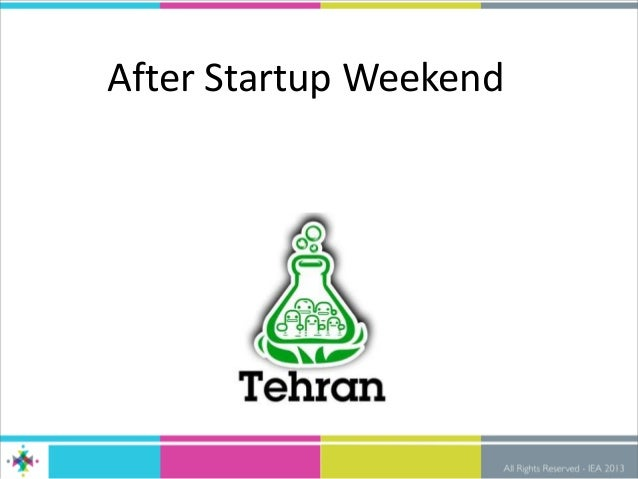 After Startup Weekend