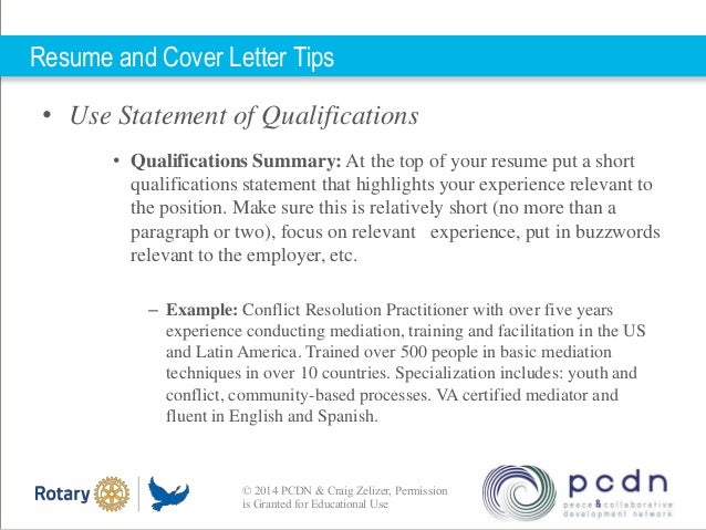 Resume Qualification Statement Gse Bookbinder Co. Sample Qualifications  Statement Of Qualifications Example