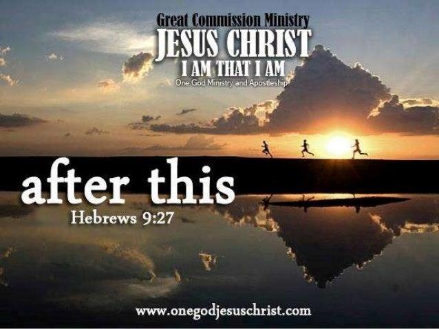 HEBREO 9:27          HEBREW 9:27At kung paanong         And as it isitinakda sa mga      appointed untotao ang mamatay    ...