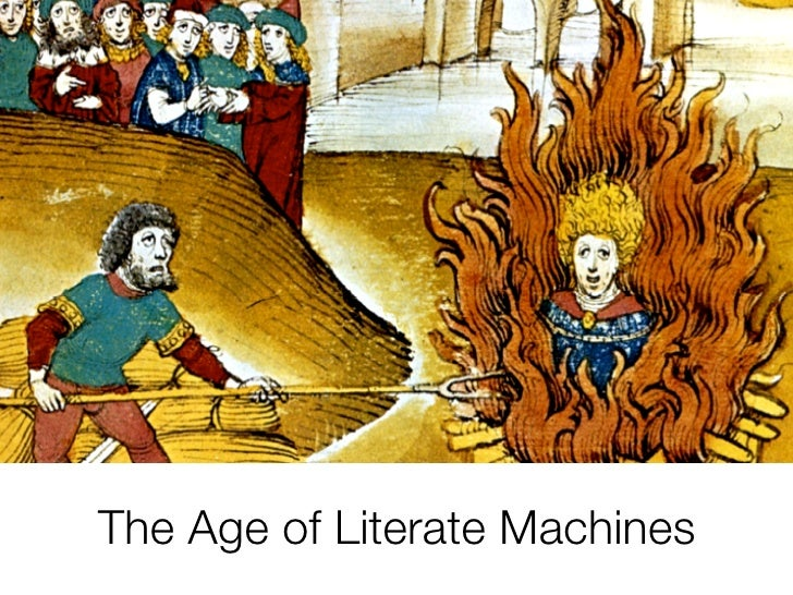The Age of Literate Machines