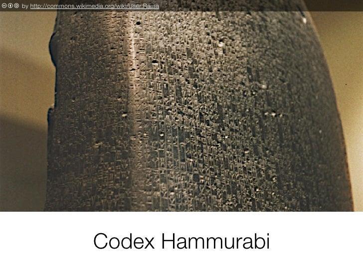 c b a by http://commons.wikimedia.org/wiki/User:Rama                                   Codex Hammurabi