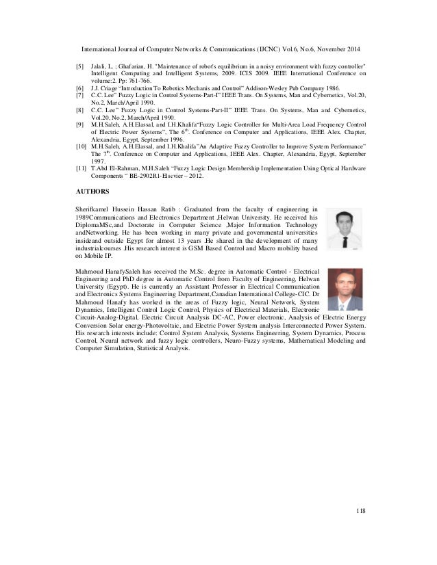 ieee research papers on fuzzy logic Wiley-ieee press: ieee press only all  12 from logic expressions to fuzzy logic networks  and over forty conference papers he is a fellow of the ieee.