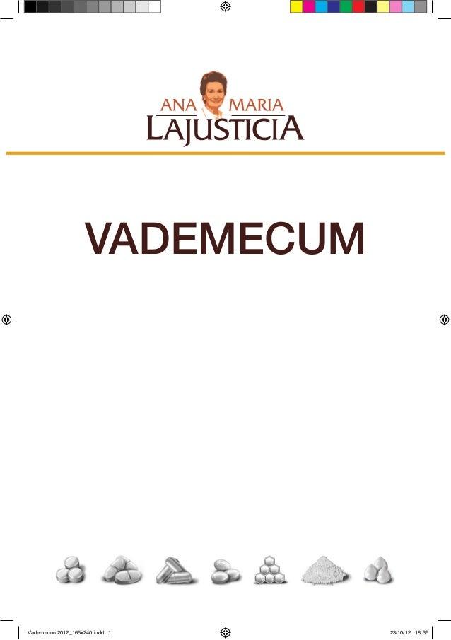 VADEMECUMVademecum2012_165x240.indd 1   23/10/12 18:36