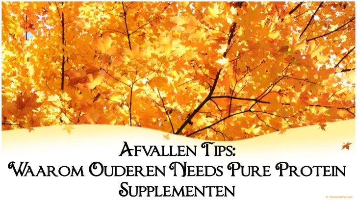 Afvallen Tips:Waarom Ouderen Needs Pure Protein         Supplementen