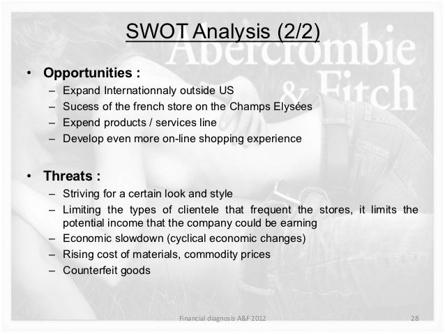 SWOT ANALYSIS ON ABERCROMBIE & FITCH